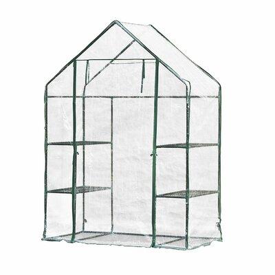4.58 Ft. W x 2.41 Ft. D Mini Greenhouse ALEKO