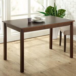 Erica Espresso Wood Dining Table by Winst..