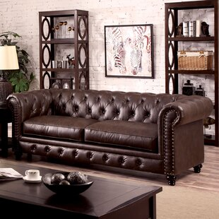 Branchville Chesterfield Sofa by Three Posts Best Design