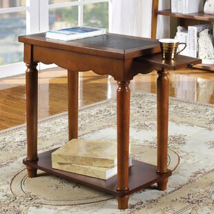 Koa End Table by Alcott Hill