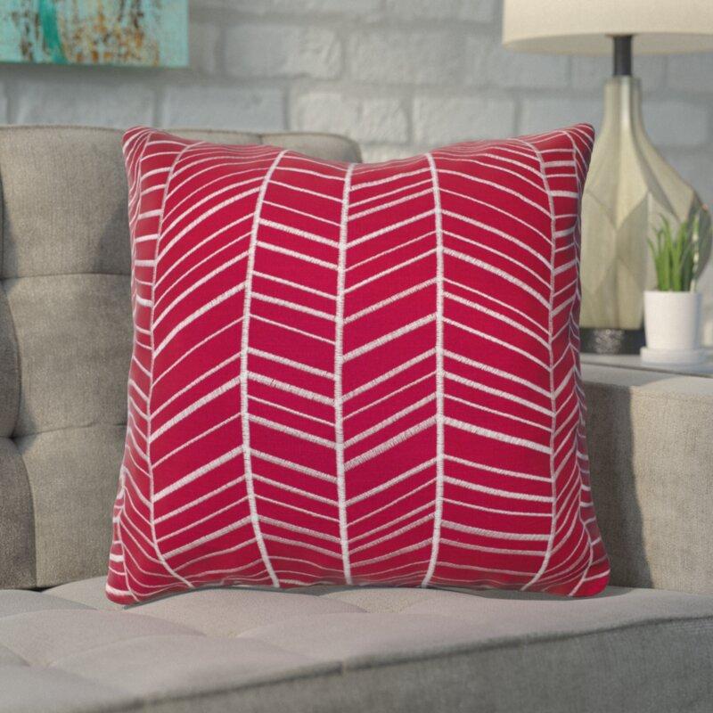 Langley Street Ash Hill 100% Cotton Throw Pillow & Reviews   Wayfair