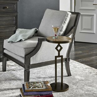 Cedar Creek Button Top Scatter End Table by Darby Home Co
