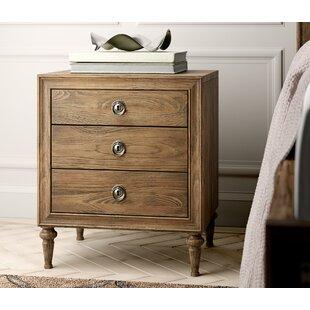 Greyleigh Knollwood 3 Drawer Nightstand