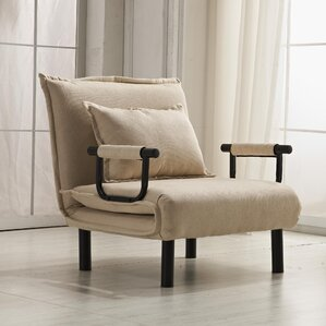 Vickie Convertible Chaise Lounge : beige chaise lounge - Sectionals, Sofas & Couches