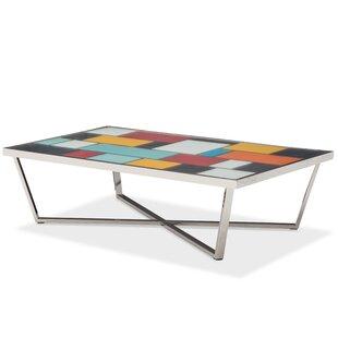 Michael Amini Kube Coffee Table