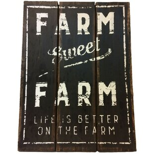 Vintage Wood Farm Signs Wayfairca
