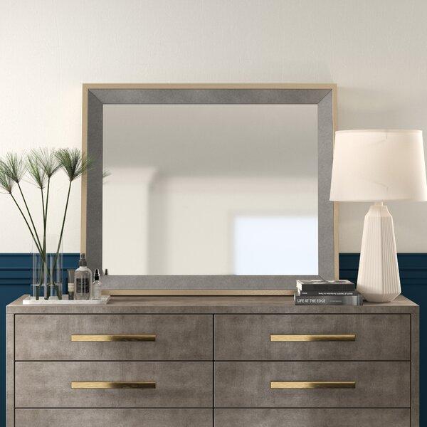 Caulkins Rectangle Wood Mirror Allmodern