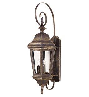Charlton Home Hamlett 3-Light Outdoor Sconce