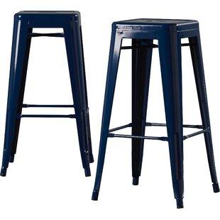 navy blue bar stools Navy Blue Barstool | Wayfair navy blue bar stools