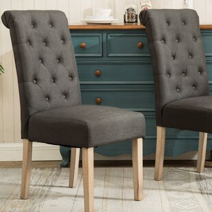 Charlotte Upholstered Dining Chair (Set Of 2) Great price