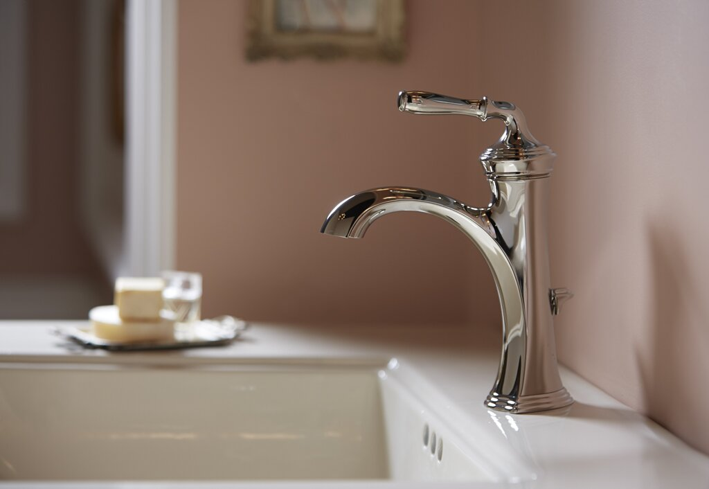 K-193-4-2BZ,BN,BV Kohler Devonshire Bathroom Sink Faucet with Drain ...