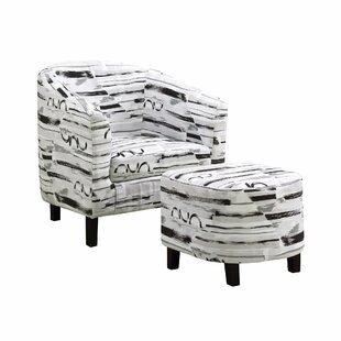 Morden Barrel Chair by Orren Ellis