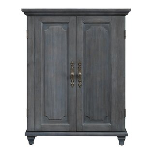 Geneve Convertible Wine 2 Door Accent Cabinet