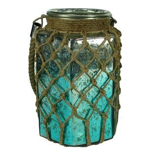 Glass Lantern by Rosecliff Heights
