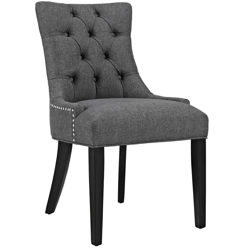 Lark Manor Burslem Tufted Side Chair Reviews Wayfair