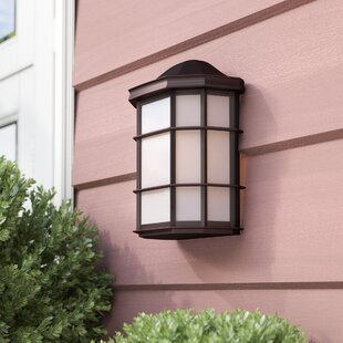 Andover Mills Boone 1-Light Outdoor Flush Mount
