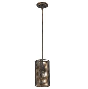 Finigan 1-Light Cylinder Pendant by Brayden Studio