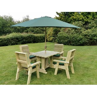 Robersonville 4 Seater Dining Set By Sol 72 Outdoor