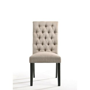Ewan Upholstered Dining Chair (Set of 2) Alcott Hill