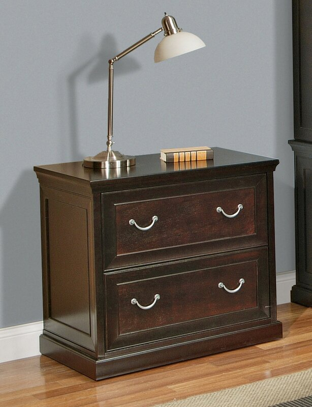 Wood Lateral File Cabinets kathy ireland homemartin furniture fulton 2 drawer lateral