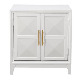 Compare & Buy Aiello Geometric Front 2 Door Accent Cabinet By Mercer41