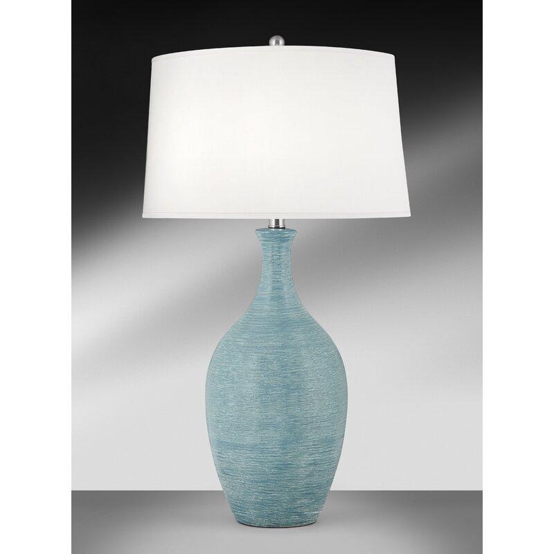 Medallion Lighting Filare Spun Blue 31 Table Lamp Wayfair