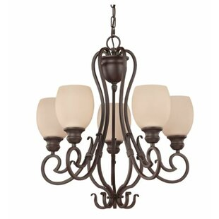 Fleur De Lis Living Calumet 5-Light Shaded Chandelier