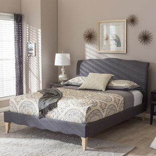 Sevan Upholstered Platform Bed by Lark Manor