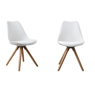 Attraction Design Home Plastic Dinning Side Chair (Set of 2)