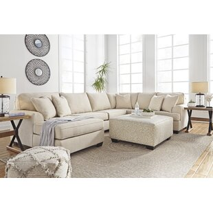 Charlton Home Ellery Nuvella Sectional