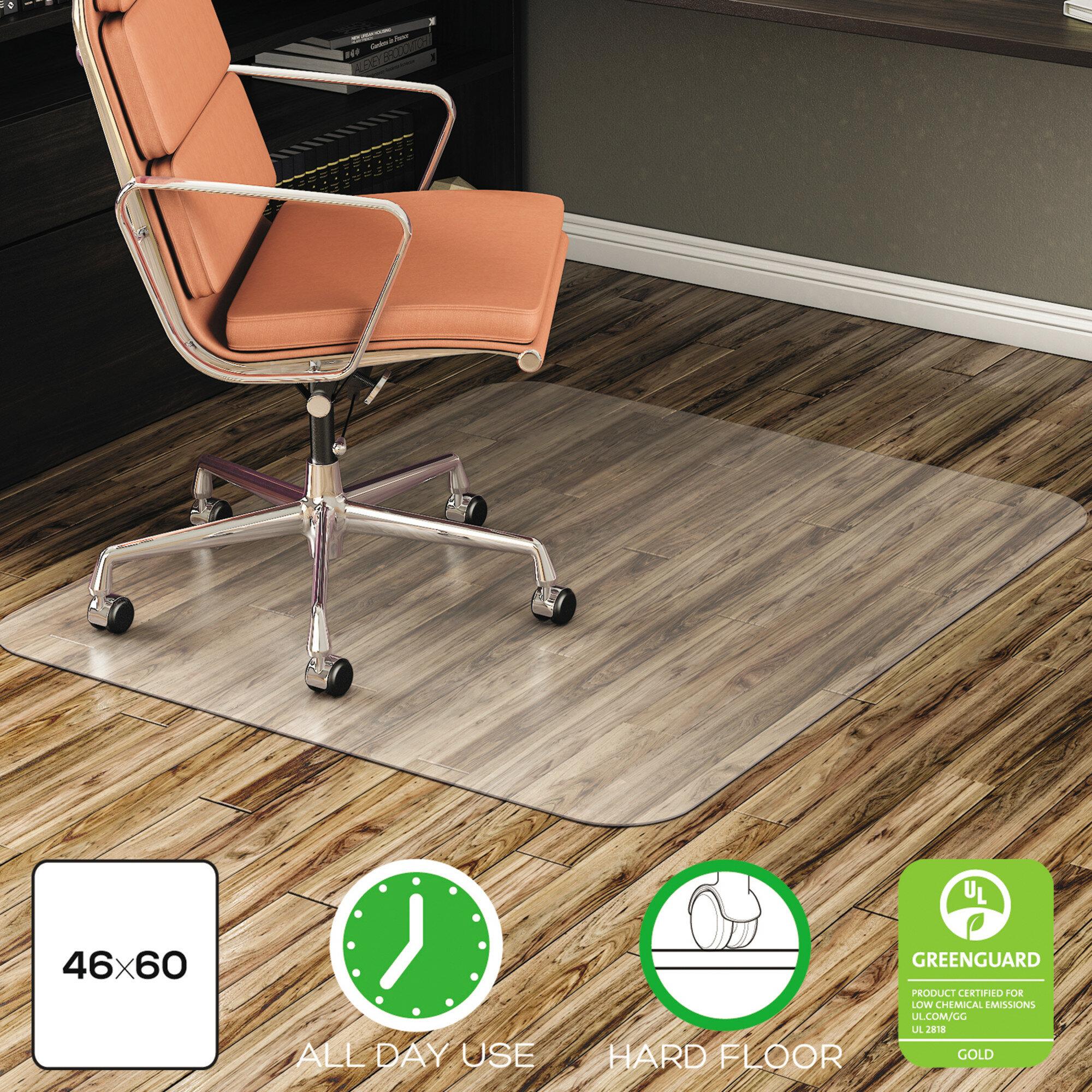48 X 60 Clear Chair Mat For Hard Floors
