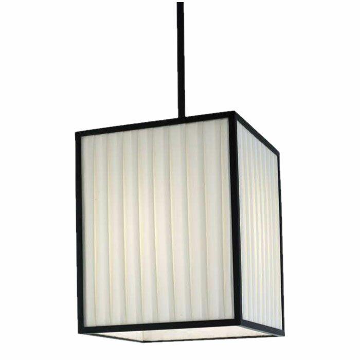 Orren Ellis Windom 1 - Light Unique / Statement Rectangle Pendant