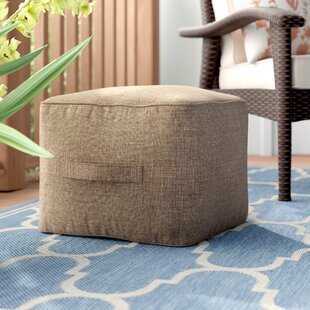 Alcott Hill Kearse Outdoor Ottoman with C..