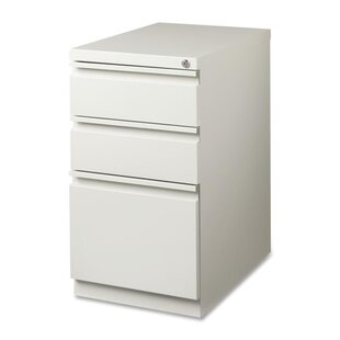 15 W x 19.9 D 3-Drawer Mobile Pedestal File
