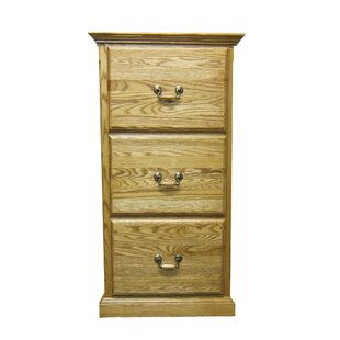 Hutchins 3-Drawer File Cabinet