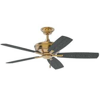 Alcott Hill 52 Mcginley 5 Blade Standard Ceiling Fan With Pull Chain Reviews Wayfair