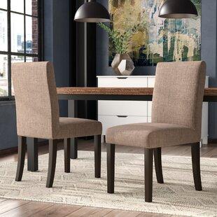 Brayden Studio Caverly Parsons Dining Chair (Set of 2)