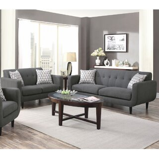 2 Piece Living Room Set by Infini Furnishings SKU:BC672567 Reviews