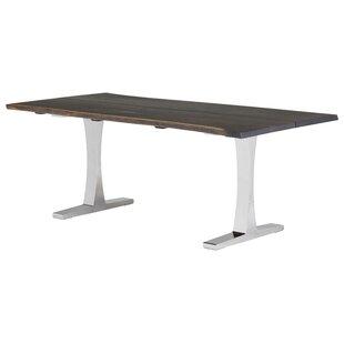 17 Stories Marini Metal Base Dining Table