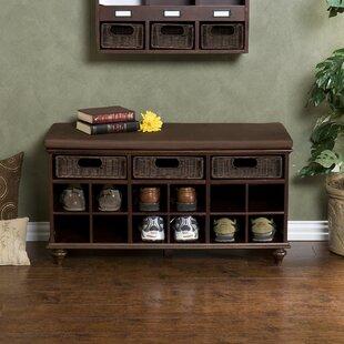Wildon Home ® Belmeade Shoe Storage Bench