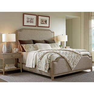 Cypress Point Upholstered Panel Bed