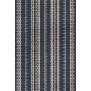 Hand-Woven Blue/Beige Indoor/Outdoor Area Rug by Dash & Albert Europe