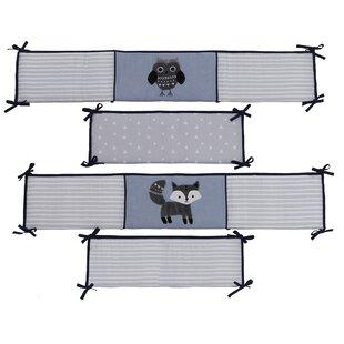 Price Check Stay Wild Owl 4 Piece Crib Bumper ByLambs & Ivy
