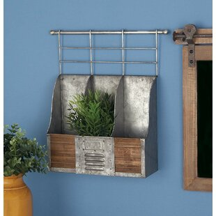 Osterley Iron 3 Wall Mounted Wine Rack by..