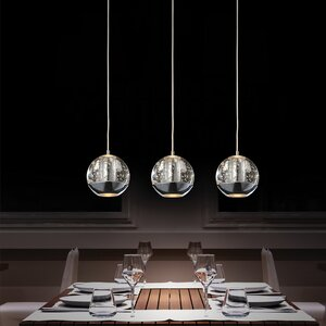 Perrier 3-Light Kitchen Island PendantS