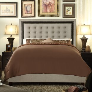 Rawley Upholstered Panel Bed by Charlton Home