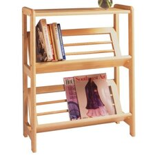 Basics Tilted 30 Etagere Bookcase by Winsome