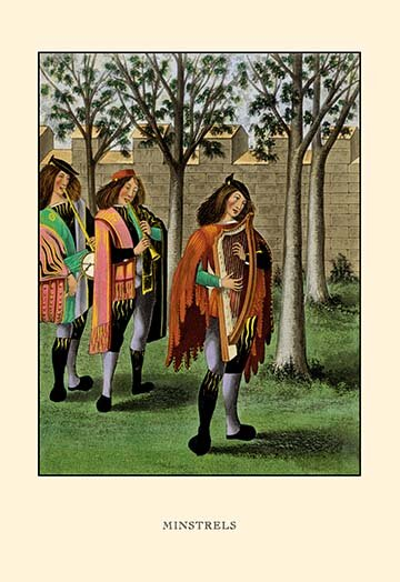 Buyenlarge Minstrels By H Shaw Painting Print Wayfair