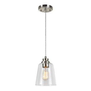 Wrought Studio Erhard 1-Light Bell Pendant