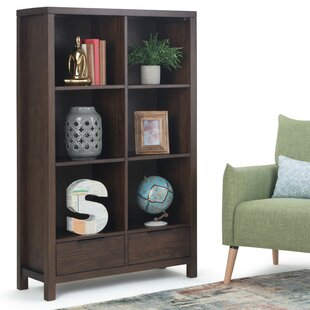 Mcadams Cube Bookcase by Millwood Pines
